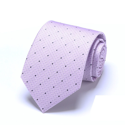 Woven  Business  Neckties 100% Silk Stripped Ties Jacquard Neckwear Men Style