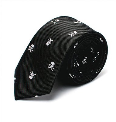 Hand Made Business Mens Neck Tie Skinny Silk 7-10CM Ties With Club Logos