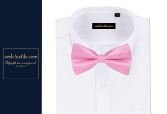 Polyester woven Bow tie business bowtie for noraml use .