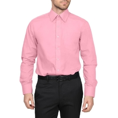 Twelve colors are in stock for long sleeve dress shirt,gentlemen shirt,dressing shirt for business use .daily shirts