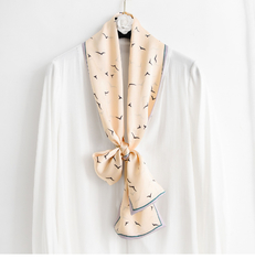 Long New arrival spring fashionable personalized excellent silk scarf made of the 100% pure silk