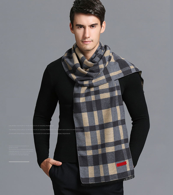 High quality hot sale viscose jacquard scarf high-grade winter fashionable classic scarves